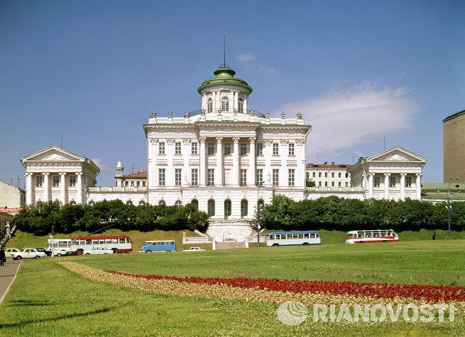 Здание библиотеки имени В.И.Ленина