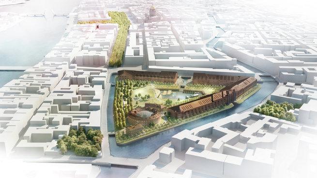 План развития острова Новая Голландия