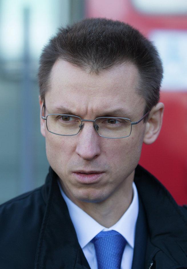 Заместитель председателя правительства Московской области Петр Иванов