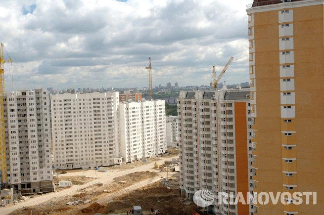 Строительство нового  жилого микрорайона в Павшинской пойме