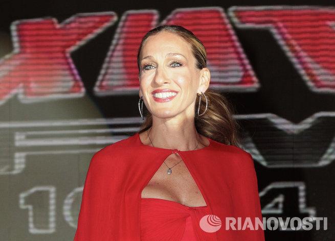 Сара Джессика Паркер представила в Москве фильм Я не знаю, как она делает это