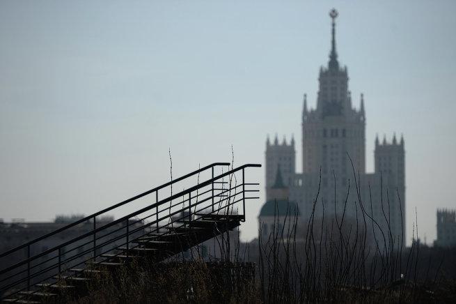 Пустырь на месте гостиницы Россия, Зарядье