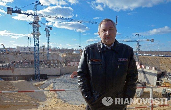 Д.Рогозин посетил строящийся космодром Восточный