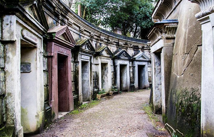 Хайгейтское кладбище (Ливанский круг)
