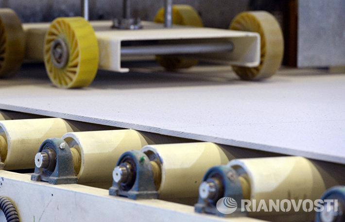 Завод по производству потолочных плит в Татарстане