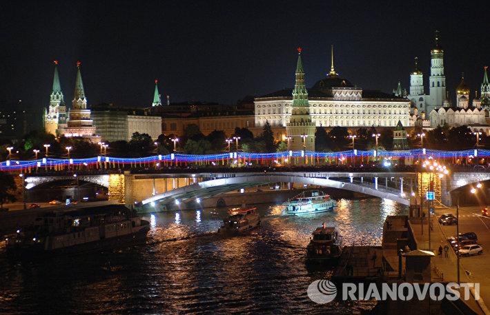 Вид на Кремль и Большой Каменный мост