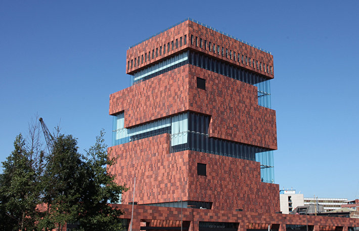 Музей в порту Антверпена