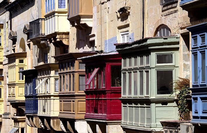 Балконы Валетты