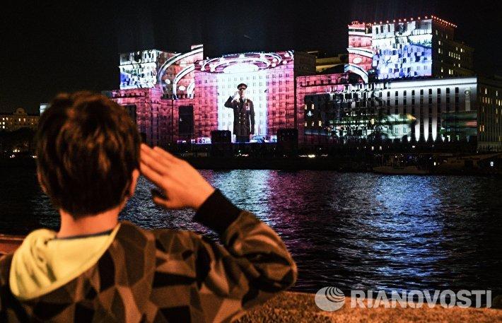 Подготовка к международному фестивалю Круг света в Москве