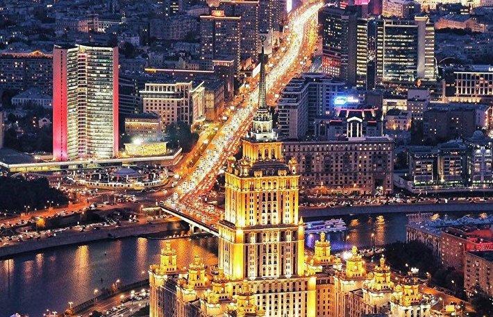 Москва глазами руфера