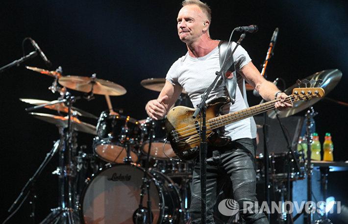 Концерт Стинга в Москве