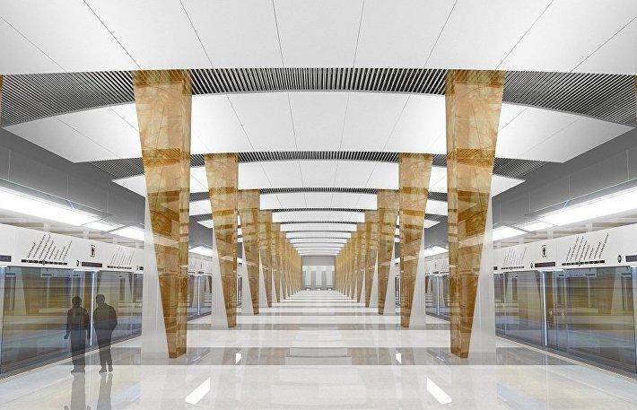 Проект станции Шелепиха