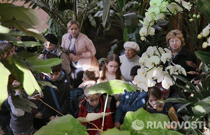 Ботанический сад МГУ им. М.В.Ломоносова Аптекарский огород