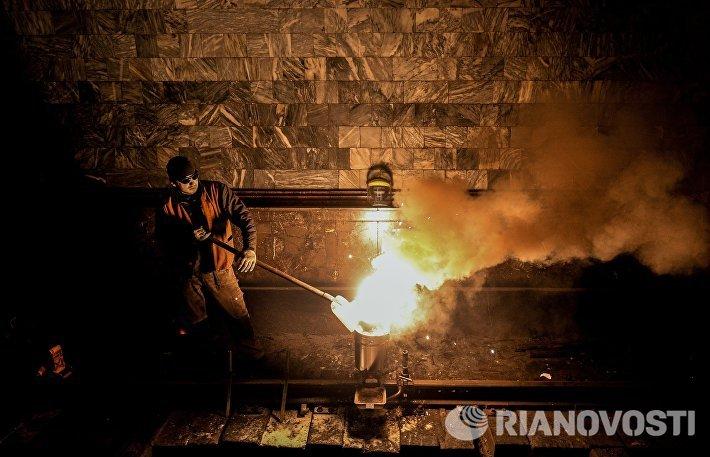 Ремонтные работы на Арбатско-Покровской линии Московского метрополитена