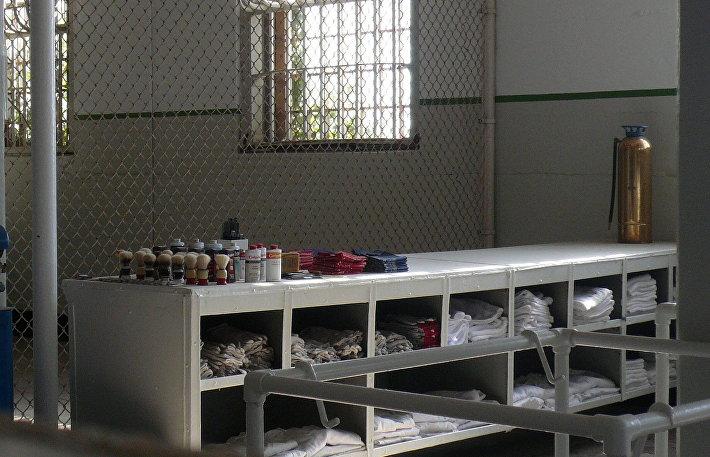 Элементы быта заключенных Алькатраса
