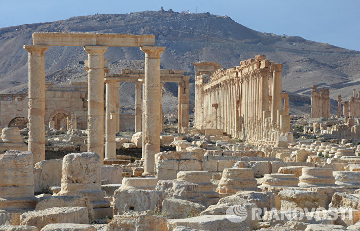 Историческая часть Пальмиры