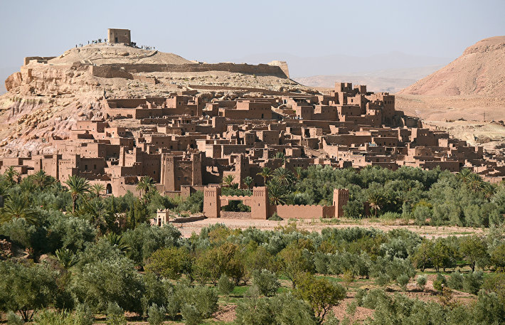 Марокканский ксар Айт-Бен-Хадду