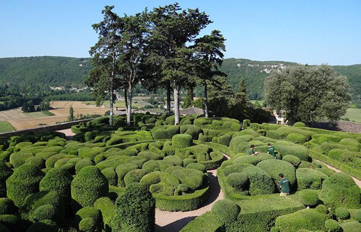 Франция, изумрудные сады