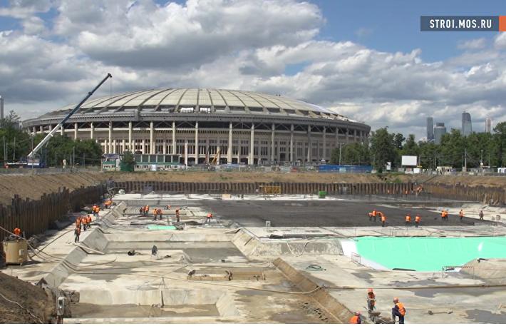 Воссоздание бассейна Лужники: аквапарк, крыша-трансформер и фитнес-центр