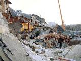 Обрушение крыши развлекательного комплекса Трансвааль-парк в Москве