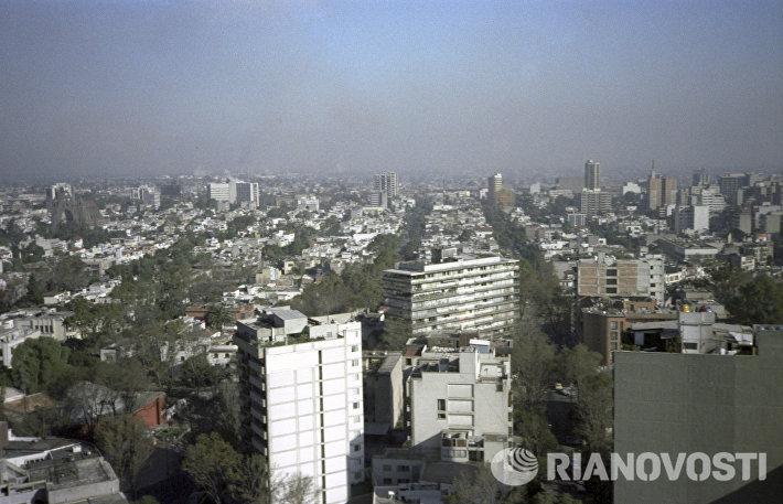Панорама города Мехико