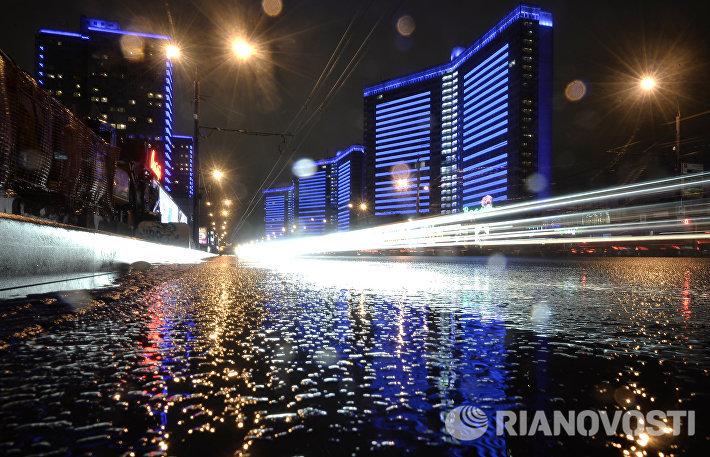 Международная акция Light It Up Blue в России