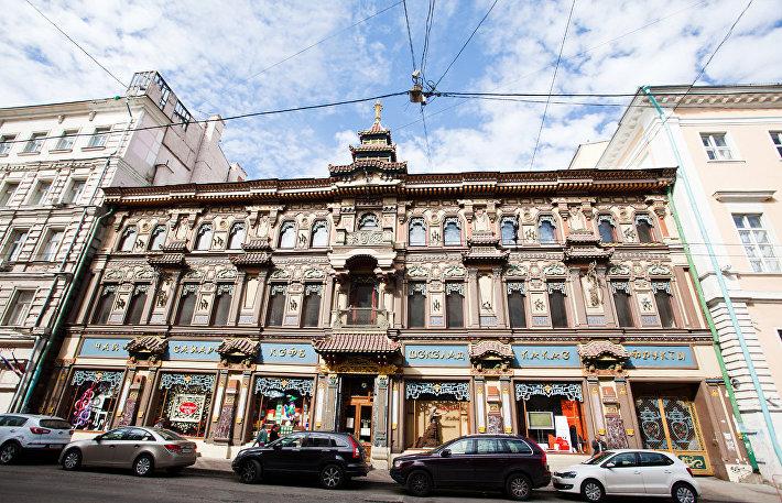Дом купца Перлова на Мясницкой