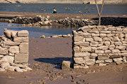 Появление из воды испанского города Мансилья-де-ла-Сьерра