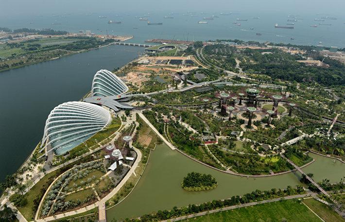 Gardens by the Bay, Сингапур.