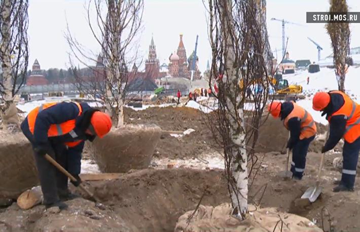 Парк Зарядье у Кремля: лес, аттракционы и машина времени