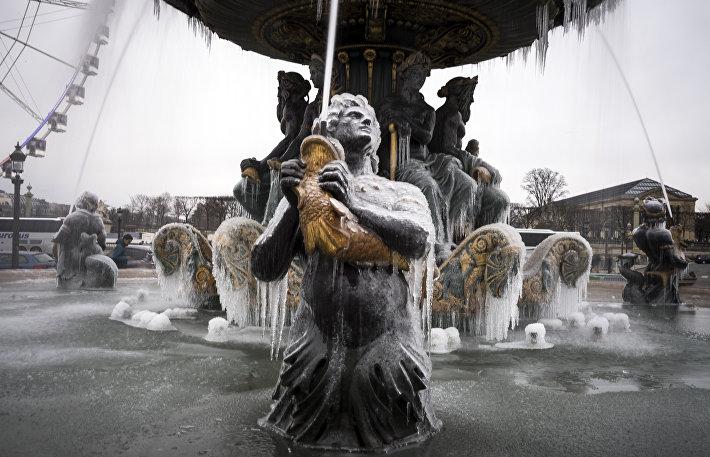 Ледяной Париж