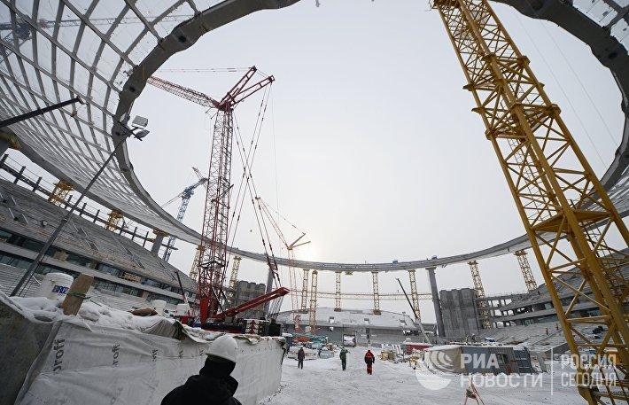 Реконструкция Центрального стадиона Екатеринбург-Арена