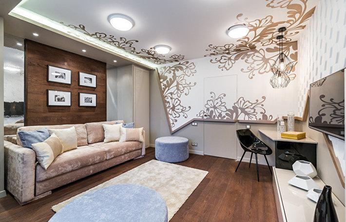 Чтобы все упали: 8 идей дерзкого и эпатажного дизайна квартиры
