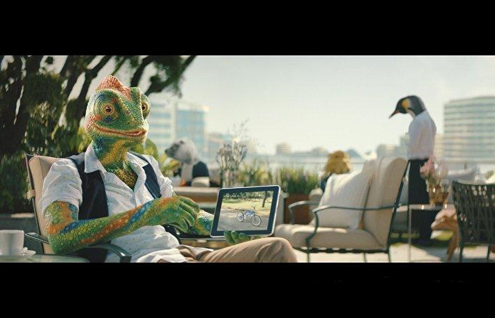 Фрагмент ролика компании Донстрой
