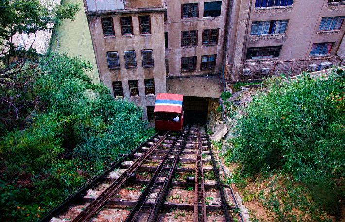 Лифт-фуникулер в Чили