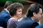 Руководитель Департамента финансов города Москвы Елена Зяббарова