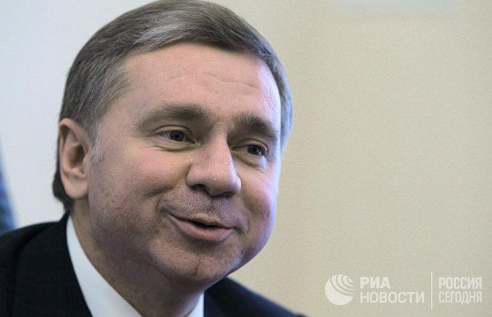 Руководитель департамента международных связей Москвы Сергей Черемин