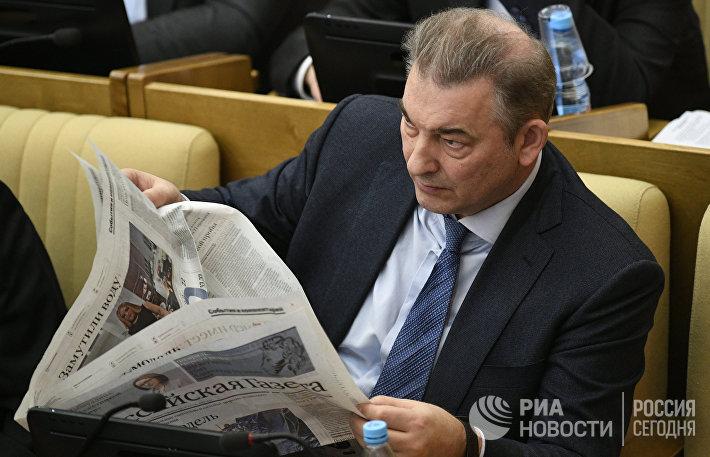 Член комитета ГД по охране здоровья Владислав Третьяк