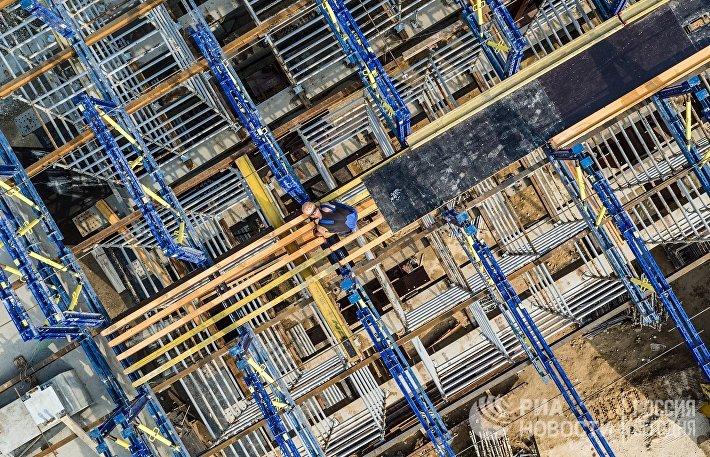 Строительство развязки