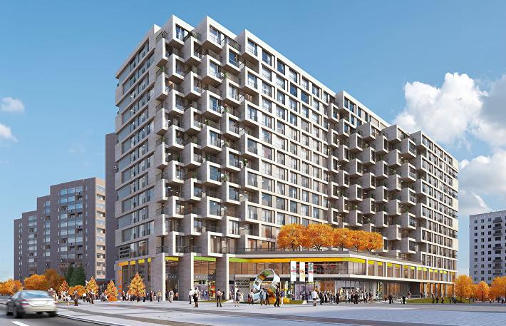 Проект апарт-отеля с общественным центром рядом со станцией метро «Алексеевская»